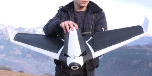 A découvrir : le drone Disco par Parrot