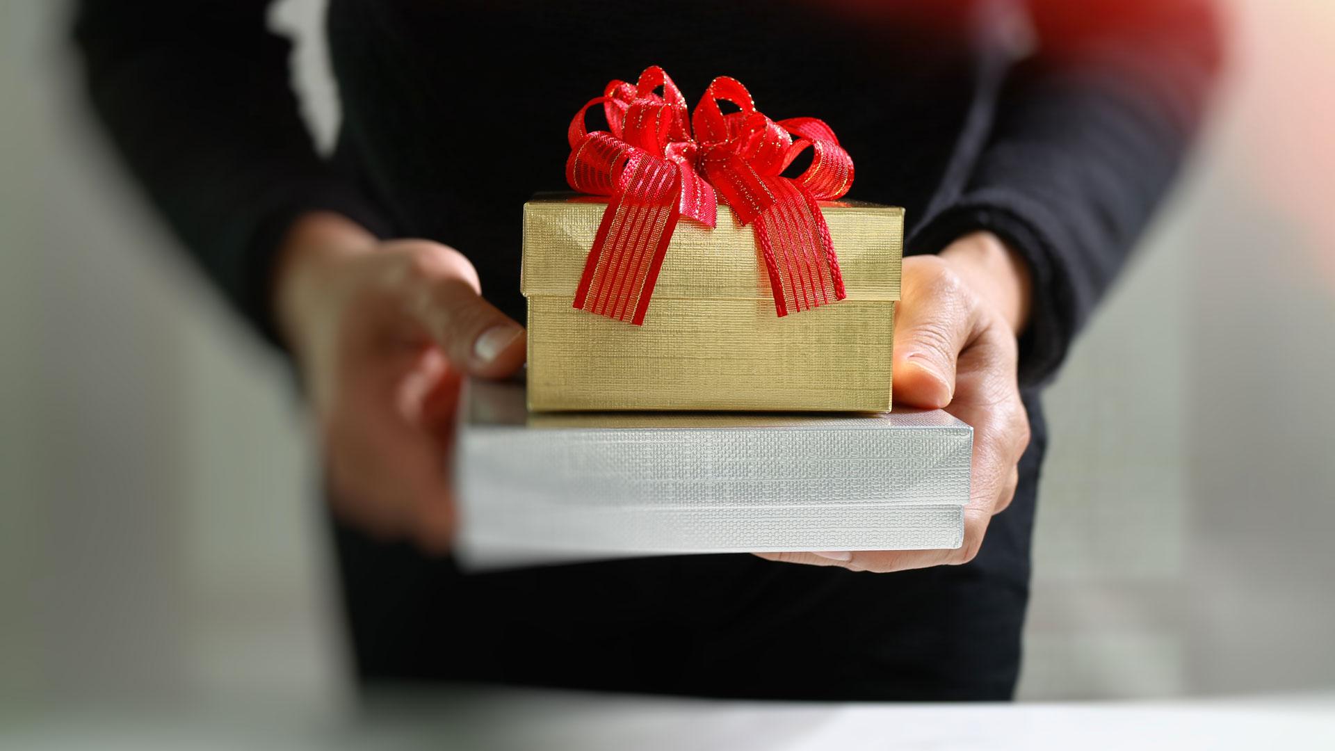 infographie cadeau d'affaires