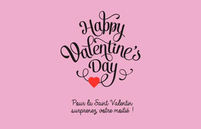 Trouvez votre cadeau pour la St Valentin