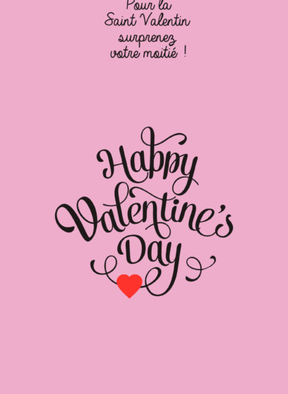 Wishlist cadeaux St Valentin