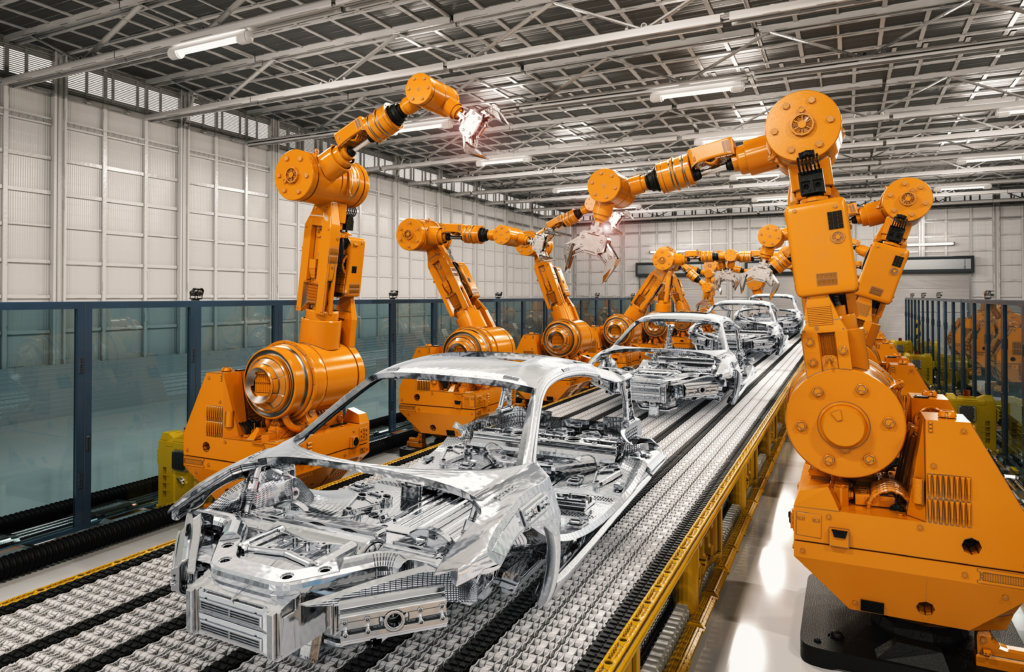 Equipementier automobile usine montage