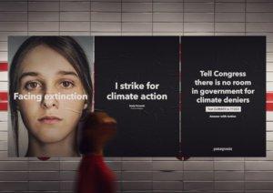 Engagée depuis toujours en faveur de l'environnement, en septembre 2019, Patagonia a fermé ses magasins et bureaux pour permettre à ses employés de rejoindre la grève mondiale pour le climat.